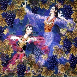 Иранский живописец Ostad Mahmoud Farshchian